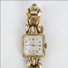 Relojes de pulsera: RELOJ DE PULSERA FEMENINO GALANT - MANUAL. PIEZAS O RESTAURACIÓN - DORADO - CAJA 22 X 22 MM. Lote 45146473