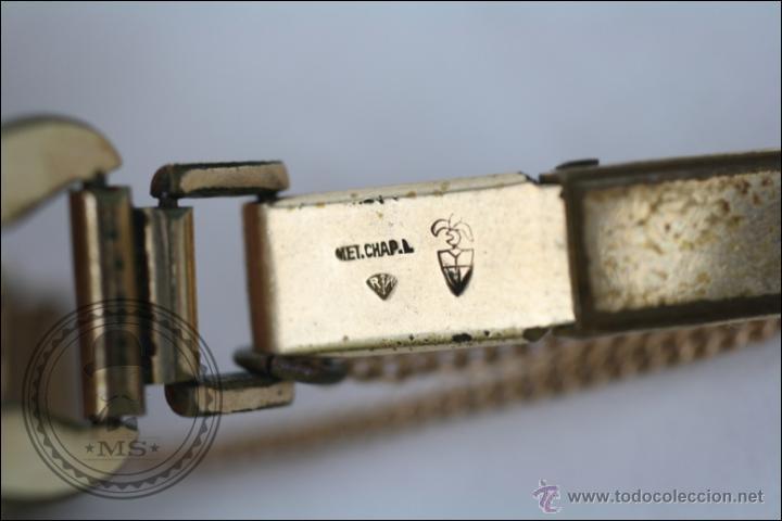 Relojes de pulsera: Reloj de Pulsera Femenino Galant - Manual. Piezas o Restauración - Dorado - Caja 22 x 22 Mm - Foto 5 - 45146473