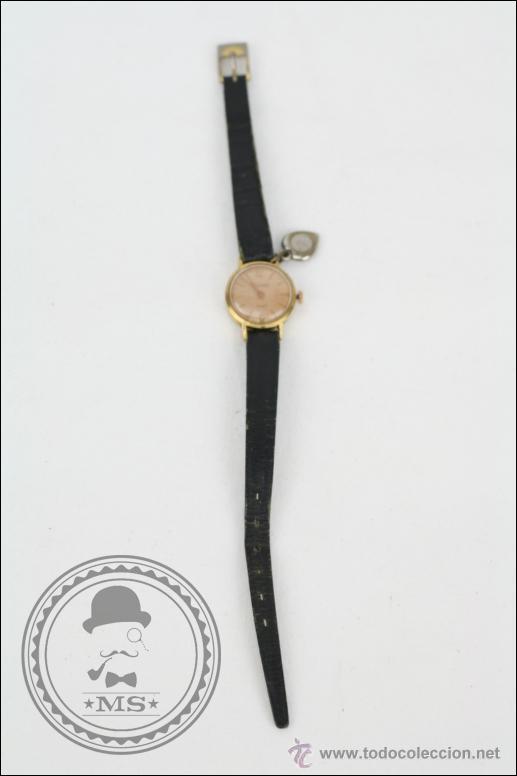 RELOJ DE PULSERA FEMENINO DUWARD - MANUAL. PIEZAS O RESTAURACIÓN - DORADO - CAJA 20 MM DIÁMETRO (Relojes - Pulsera Carga Manual)