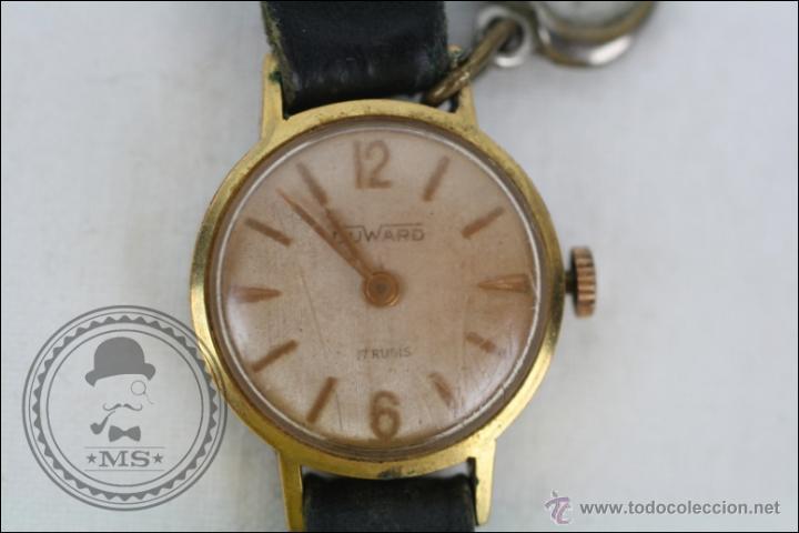 Relojes de pulsera: Reloj de Pulsera Femenino Duward - Manual. Piezas o Restauración - Dorado - Caja 20 Mm Diámetro - Foto 2 - 45146709