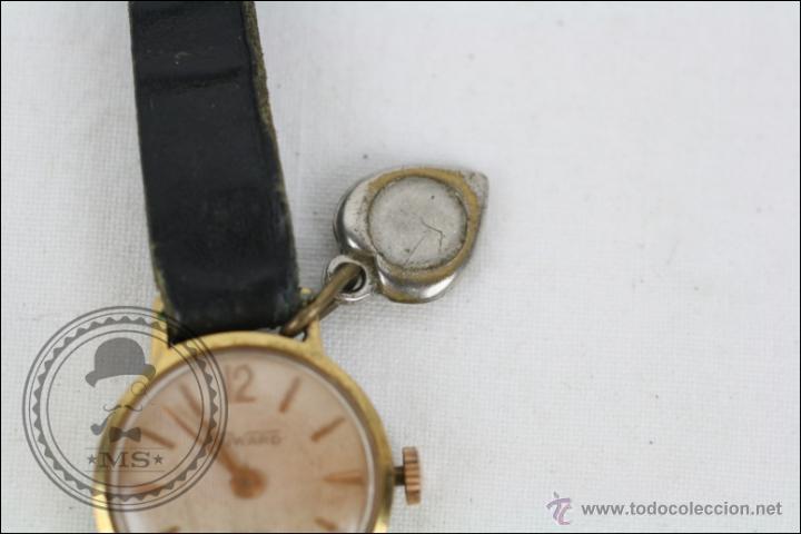 Relojes de pulsera: Reloj de Pulsera Femenino Duward - Manual. Piezas o Restauración - Dorado - Caja 20 Mm Diámetro - Foto 3 - 45146709