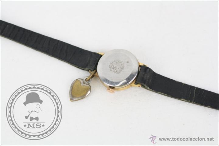 Relojes de pulsera: Reloj de Pulsera Femenino Duward - Manual. Piezas o Restauración - Dorado - Caja 20 Mm Diámetro - Foto 5 - 45146709