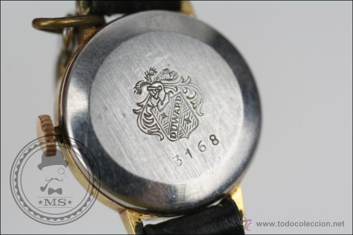 Relojes de pulsera: Reloj de Pulsera Femenino Duward - Manual. Piezas o Restauración - Dorado - Caja 20 Mm Diámetro - Foto 6 - 45146709