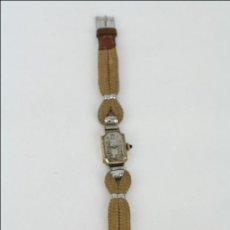 Relojes de pulsera: RELOJ DE PULSERA FEMENINO REELLE - MANUAL. PIEZAS O RESTAURACIÓN - CHAPADO EN ORO - CAJA 20 X 14 MM. Lote 45146923