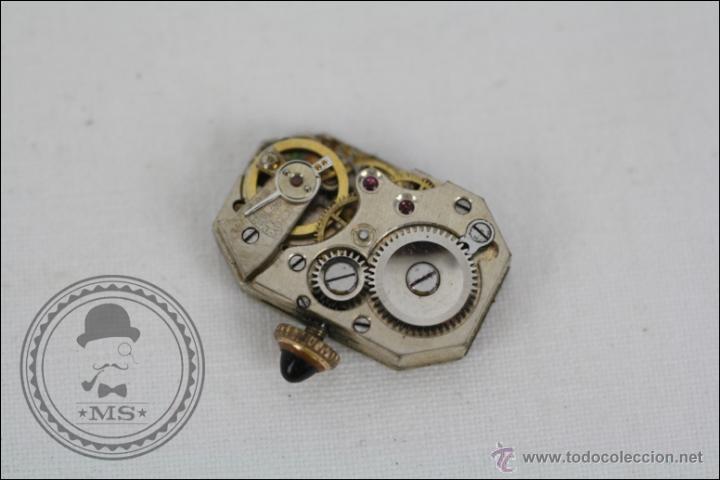 Relojes de pulsera: Reloj de Pulsera Femenino Reelle - Manual. Piezas o Restauración - Chapado en Oro - Caja 20 x 14 Mm - Foto 7 - 45146923
