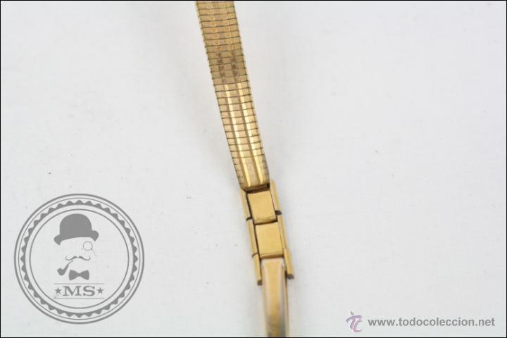 Relojes de pulsera: Reloj de Pulsera Femenino Cauny Prima - Manual.Piezas o Restauración - Chapado Oro - Caja 16 Mm Diám - Foto 3 - 45147418