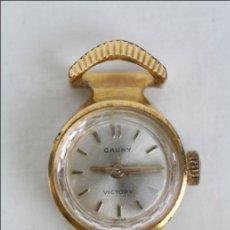 Relojes de pulsera: CAJA DE RELOJ PULSERA CAUNY VICTORY - MANUAL. PIEZAS O RESTAURACIÓN - CHAPADA ORO - CAJA 15 MM DIÁM. Lote 45150744