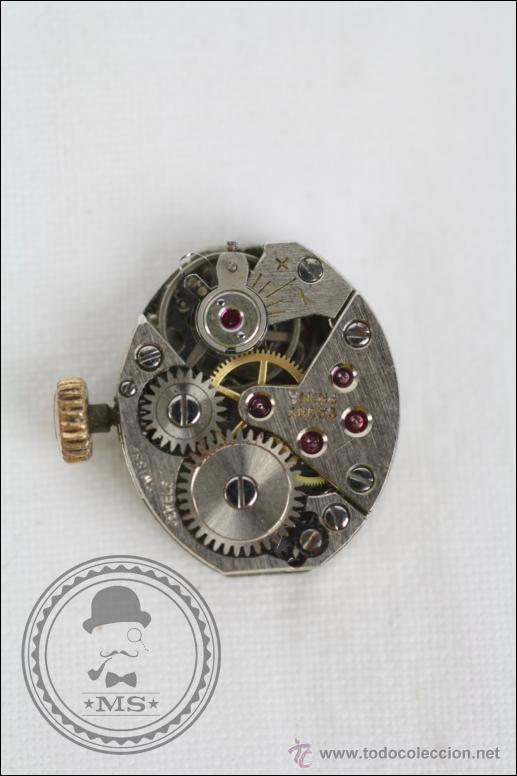 Relojes de pulsera: Caja de Reloj Pulsera Cauny Victory - Manual. Piezas o Restauración - Chapada Oro - Caja 15 Mm Diám - Foto 4 - 45150744