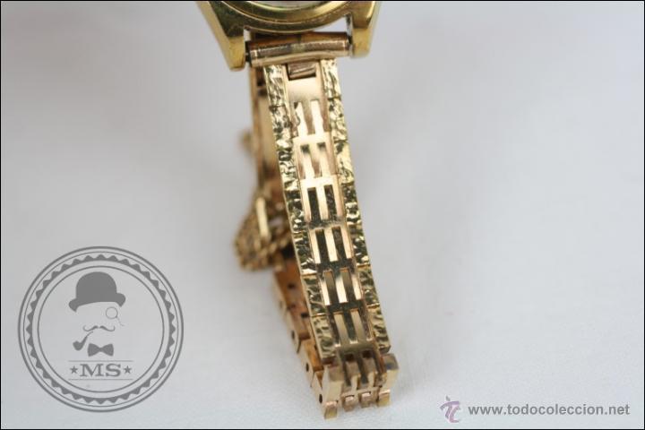 Relojes de pulsera: Reloj de Pulsera Femenino Vadur - Manual. Funciona - Dorado - Caja 20 Mm de Diámetro - Foto 4 - 45604260