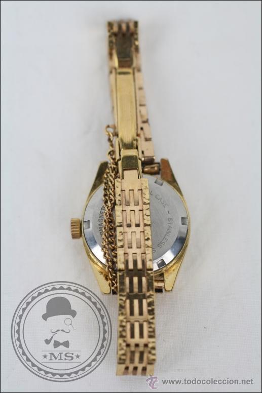Relojes de pulsera: Reloj de Pulsera Femenino Vadur - Manual. Funciona - Dorado - Caja 20 Mm de Diámetro - Foto 5 - 45604260