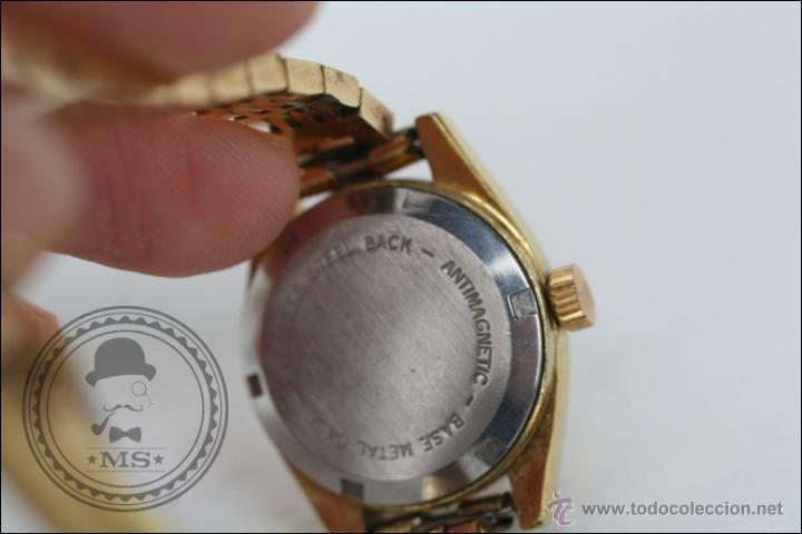 Relojes de pulsera: Reloj de Pulsera Femenino Vadur - Manual. Funciona - Dorado - Caja 20 Mm de Diámetro - Foto 6 - 45604260