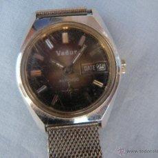 Relojes de pulsera: RELOJ A CUERDA MARCA VADUR. Lote 45642266
