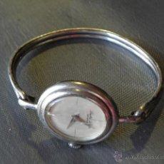 Relojes de pulsera: RELOJ LEUBA LOUIS GENEVE DE MUJER AUTOMATICO - PULSERA Y CAJA DE PLATA 925. Lote 45778035