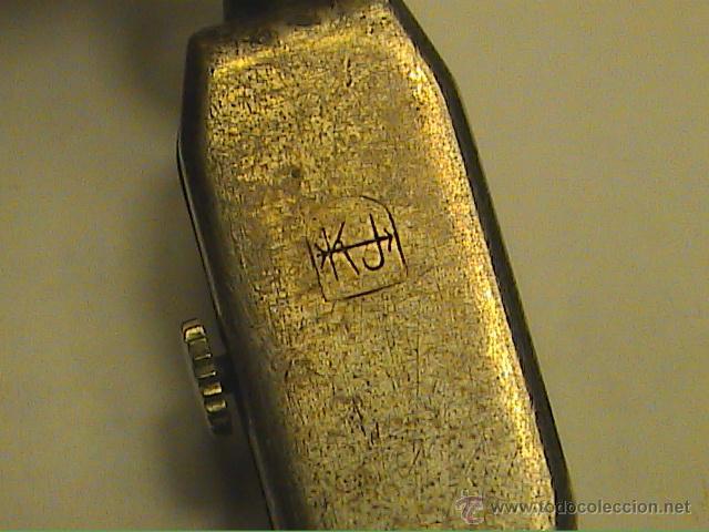 Relojes de pulsera: RELOJ PULSERA DE DAMA MARCA KJ.SWISS MADE. EN PLATA Y PEDRERIA. 1915. - Foto 2 - 45841210