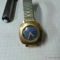 Relojes de pulsera: RELOJ DE CUERDA PARA SEÑORA 17 RUBIS SWISS MADE FUNCIONANDO. Lote 46039839