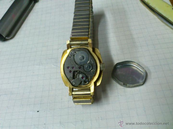 Relojes de pulsera: RELOJ DE CUERDA PARA SEÑORA 17 RUBIS SWISS MADE FUNCIONANDO - Foto 4 - 46039839