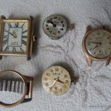 Relojes de pulsera: LOTE ANTIGUO RELOJES SEÑORA MECÁNICOS. Lote 46105743