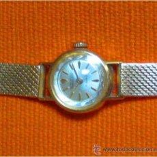 Relojes de pulsera: EXQUISITO RELOJ PULSERA SEÑORA SUIZO, ORO 18 KTS, MAQUINARIA 17 RUBÍS, THERMIDOR, AÑOS 60, NUMERADO. Lote 46406813