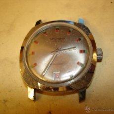 Relojes de pulsera: SPENDID - 21 RUBIS - ANTIMAGNETIC - SUIZO - NO FUNCIONA. Lote 46473288