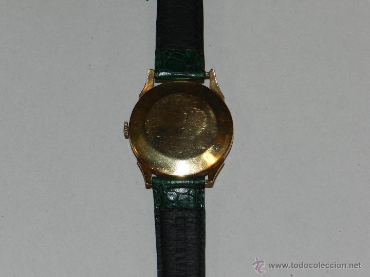 Relojes de pulsera: ANTIGUO RELOJ DE PULSERA CARGA MANUAL ORO 18 KL.- CYMA - ESTADO DE MARCHA , BUEN ESTADO 5X4,3 CM. - Foto 4 - 44204115