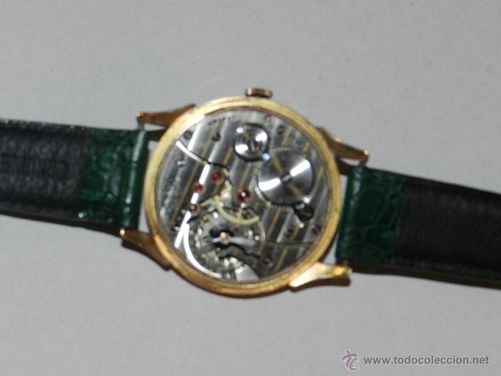 Relojes de pulsera: ANTIGUO RELOJ DE PULSERA CARGA MANUAL ORO 18 KL.- CYMA - ESTADO DE MARCHA , BUEN ESTADO 5X4,3 CM. - Foto 6 - 44204115