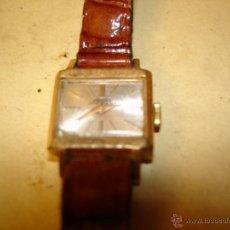 Relojes de pulsera: POTENS PRIMA DE SEÑORA - 17 RUBIS - SOLO 17 X 15 MM. - NO FUNCIONA. Lote 46698633