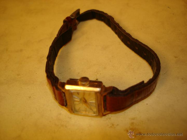 Relojes de pulsera: POTENS PRIMA DE SEÑORA - 17 RUBIS - SOLO 17 X 15 MM. - NO FUNCIONA - Foto 2 - 46698633