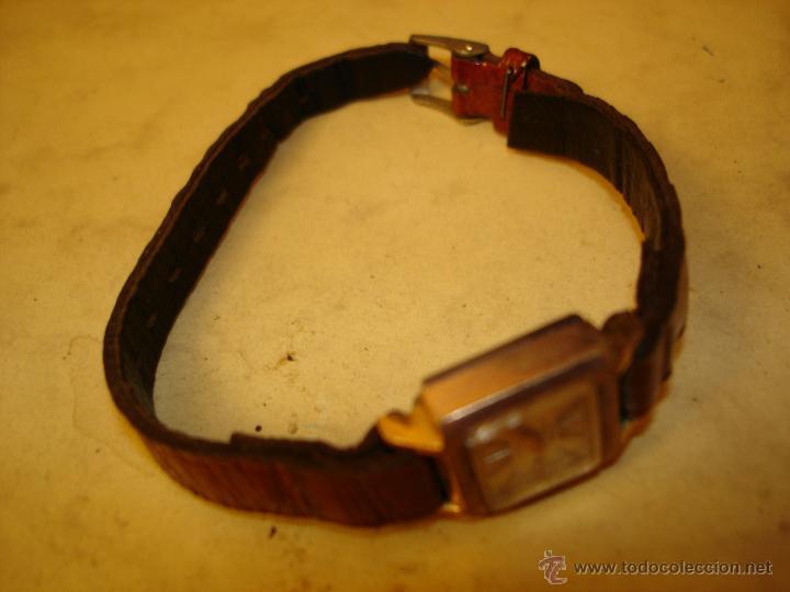 Relojes de pulsera: POTENS PRIMA DE SEÑORA - 17 RUBIS - SOLO 17 X 15 MM. - NO FUNCIONA - Foto 3 - 46698633