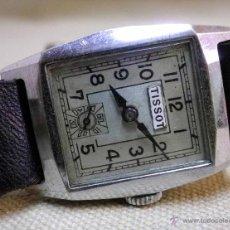 Relojes de pulsera: RELOJ PULSERA, CARGA MANUAL, TISSOT, 1930S, FUNCIONA. Lote 142131537
