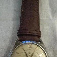 Relojes de pulsera: RELOJ TECHNOS ANTIMAGNETIC CABALLERO FUNCIONANDO. Lote 46852777