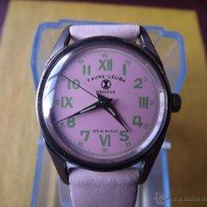 Relojes de pulsera: VIEJO RELOJ VINTAGE FAVRE-LEUBA GENEVE SEA-KING(MADE IN SWISS).. Lote 96162036
