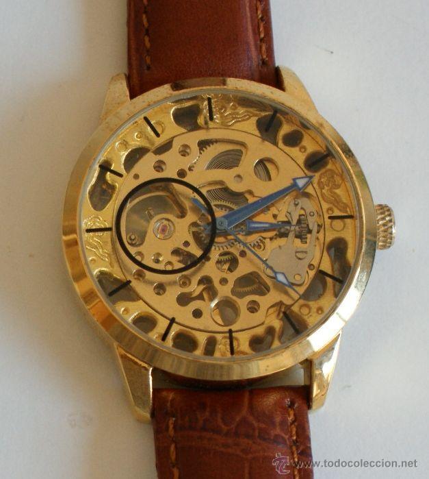 Relojes de pulsera: RELOJ CARGA MANUAL - Foto 2 - 63984958