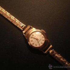 Relojes de pulsera: AÑOS 30, RELOJ MUJER CARGA MANUAL, MARCA LIP, RELOJ FRANCES, CHAPADO ORO. Lote 47122964