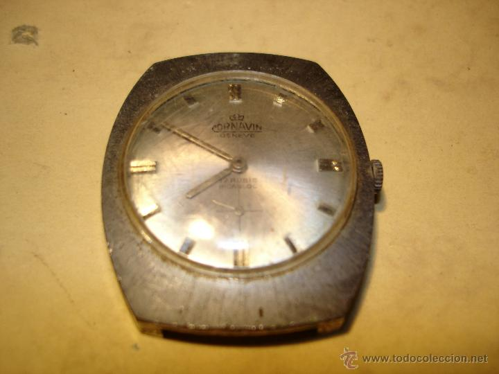 CORNAVIN - GENEVE - RELOJ DE CABALLERO - FUNCIONANDO (Relojes - Pulsera Carga Manual)