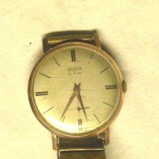 Relojes de pulsera: RELOJ PULSERA ALTUS DE LUXE, FUNCIONA. MED. 35 MM SIN CONTAR CORONA. Lote 47382028