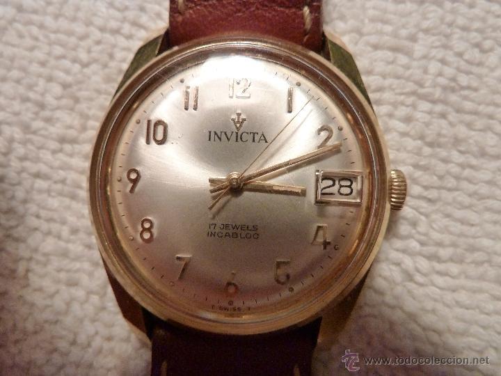 1abd166b470 precioso reloj invicta 17 rubis calendario inca - Comprar Relojes ...