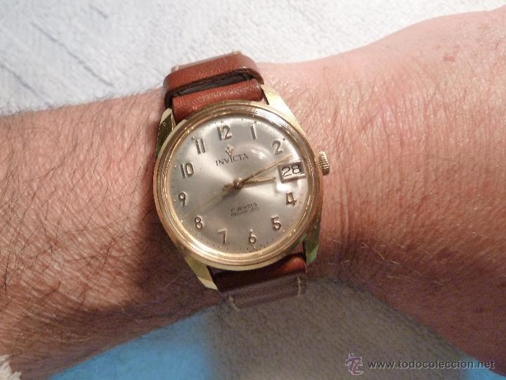 Precioso Reloj Invicta 17 Rubis Calendario Inca Comprar