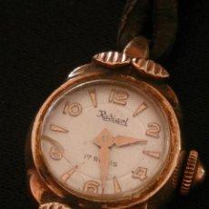 Relojes de pulsera: RELOJ DE PULSERA RADIANT DE CARGA MANUAL. CHAPADO ORO.. Lote 47556071