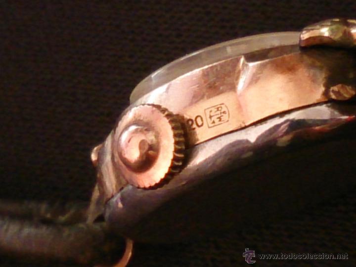 Relojes de pulsera: Reloj de pulsera Radiant de carga manual. Chapado oro. - Foto 6 - 47556071