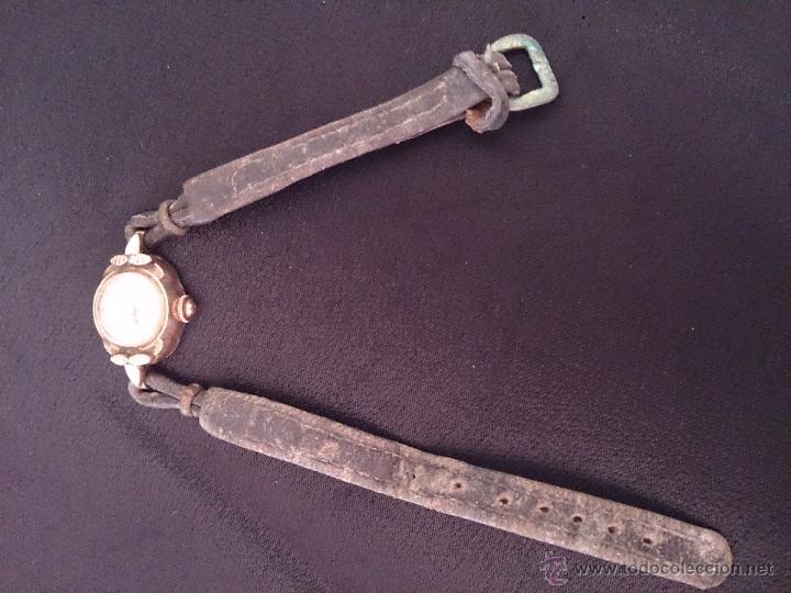 Relojes de pulsera: Reloj de pulsera Radiant de carga manual. Chapado oro. - Foto 8 - 47556071