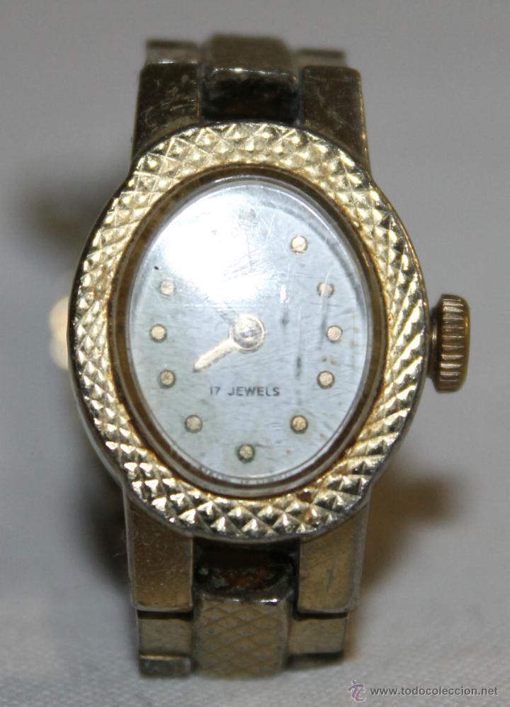 Relojes de pulsera: ANTIGUO RELOJ DE MUJER - CHAIKA 17 JEWELS - MADE IN USSR - Foto 2 - 47577032
