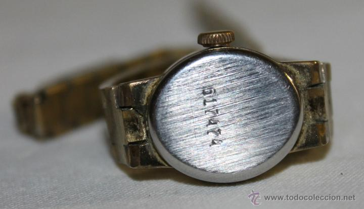 Relojes de pulsera: ANTIGUO RELOJ DE MUJER - CHAIKA 17 JEWELS - MADE IN USSR - Foto 5 - 47577032