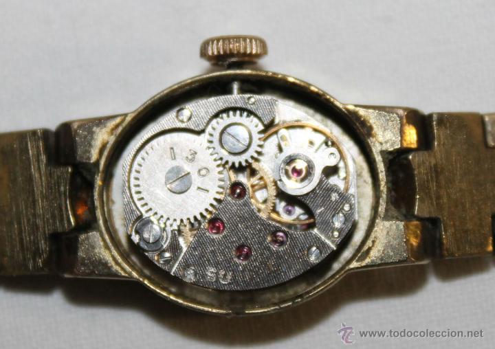 Relojes de pulsera: ANTIGUO RELOJ DE MUJER - CHAIKA 17 JEWELS - MADE IN USSR - Foto 6 - 47577032
