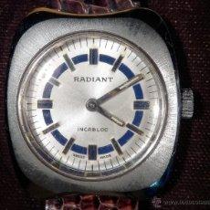 Relojes de pulsera: RADIANT RELOJ DE SRA (SUIZO) (NOS = NEW OLD STOCK). Lote 47630760