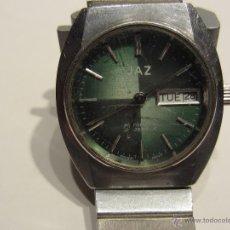 Relojes de pulsera: RELOJ PULSERA AUTOMÁTICO COLOR VERDE . Lote 47680938
