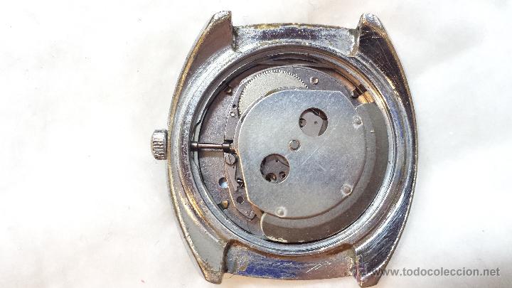 Relojes de pulsera: RELOJ PULSERA CABALLERO TIMEX AUTOMATIC CALENDARIO. NO FUNCIONA. VER DESCRIPCION - Foto 4 - 48117348