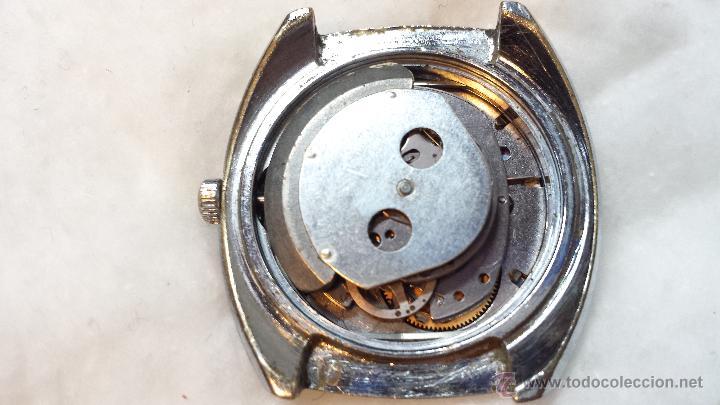 Relojes de pulsera: RELOJ PULSERA CABALLERO TIMEX AUTOMATIC CALENDARIO. NO FUNCIONA. VER DESCRIPCION - Foto 5 - 48117348