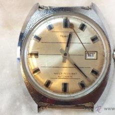 Relojes de pulsera: RELOJ PULSERA CABALLERO TIMEX AUTOMATIC. FUNCIONA. AGUJA MINUTERA SUELTA.. Lote 48154697