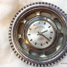 Relojes de pulsera: RELOJ PULSERA COLECCIONISTA MELISSA. 17 RUBIS, ANTICHOC, A CUERDA. FUNCIONA. Lote 48174761