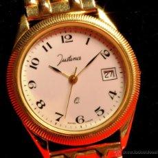 Relojes de pulsera: PRECIOSO RELOJ DE PULSERA JUSTINA ,NUEVO, NUNCA USADO. Lote 48433743